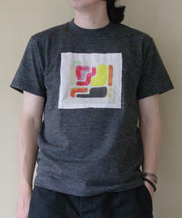 <2色展開> Nanako Oka ×  ajouter / コラボT / 風景の圧縮 Ⅱ