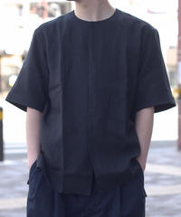 Handwerker /  short sleeve shirt - Black