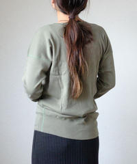 Olde Homesteader / CREW NECK SWEAT SHIRT -OLIVE