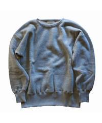 〈再入荷〉Olde Homesteader / Extra cotton Fleece Crew neck Long sleeve - top grey