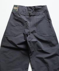 Handwerker /  wide trousers - コンパクトクロス - Dark grey