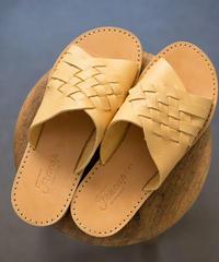 Fracap / Vegitable Leather - SENAPE(YELLOW)