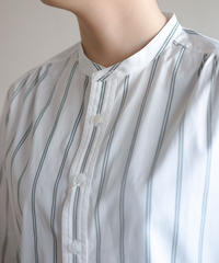 Handwerker /  collerless shirt - Stripe