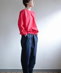 KaIKI  /   タイプライターバルーンポケットプルオーバー - RED
