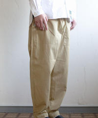 Handwerker /  easy trousers - コーデュラツイル - Beige
