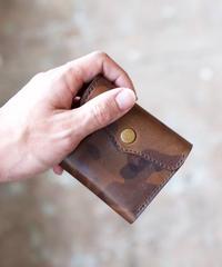 SARANAM / 三つ折り財布-迷彩