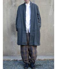 MUYA / Livery coat Tailored color - Dark grey