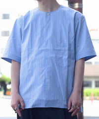 Handwerker /  short sleeve shirt - Light blue