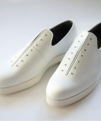 <Last 1> ISHMM /  7HOLE SHOES -WHITE - Men's