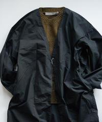 MUYA / Livery coat - BLACK