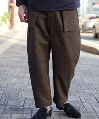 ASEEDONCLOUD / Spriggan Trousers - Brown