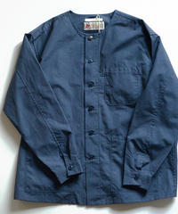 Tailor the dress / No Collar 3poket Workshirt - Navy