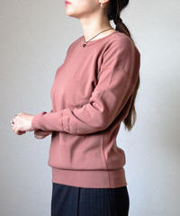 Olde Homesteader / CREW NECK SWEAT SHIRT - ROSEWOOD