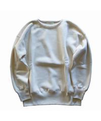 〈再入荷〉Olde Homesteader / Extra cotton Fleece Crew neck Long sleeve - ecru