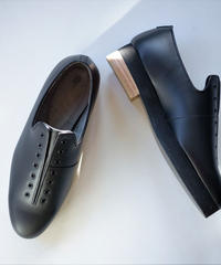 ISHMM /  7HOLE SHOES - BLACK - Lady's