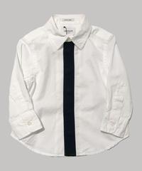 ARCH&LINE / KNIT TIE SHIRT    AL912105 ホワイト F.XS.S.M.L.XL