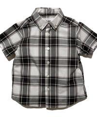 UNLAW オーガニックコットンチェックシャツ(Gray)