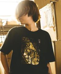 送料無料【オリジナルTシャツ】箔プリントTシャツ【日本製】