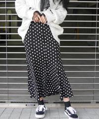 水玉マーメイドスカート(630107)