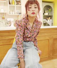 花柄シャツジャケット(630124)