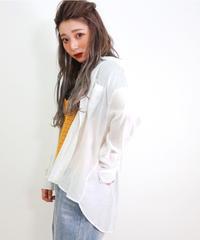 ルーズシアーシャツ(6680173)