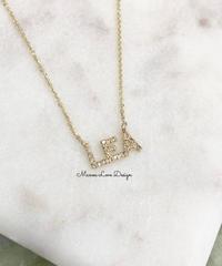 14K Leaダイヤモンドネックレス($1140)