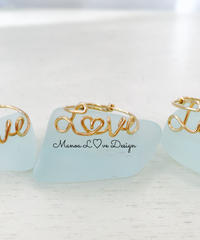 Manoa Love Design/ 14k Gold f . Loveリング($68→15%off後 $57.80)