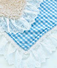"""""""在庫限り終了""""【Cafe Mat】 Lovely vichy fabric Cafe mat(ラブリーヴィシーファブリックカフェマット)"""