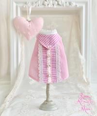 ※XSサイズピンク1枚※【Picnic of Marie Antoinette】Sweet Vichy blouse(スィートヴィシーブラウス)XSサイズ/Sサイズ