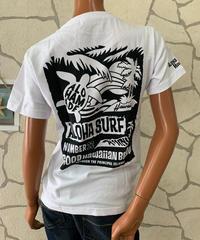 ALOHA MADE   半袖Tシャツ ALOHA SURF 202MA2ST054【WHITE】