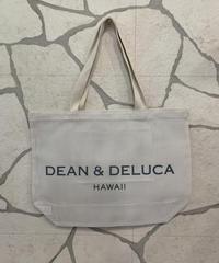 DEAN &  DELUCA  MESH TOTE LARGE【WHT】