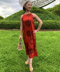 MANA CIRCLE DRESS MID0017 【RED】