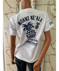 ALOHA MADE   半袖Tシャツ Moani Ke'ala 202MA2ST042【WHITE】