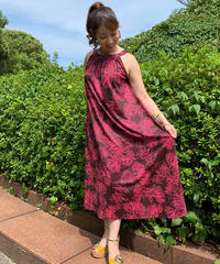 MANA  DRESS   MID-0017IW      レフア イヴィ【BROWN】