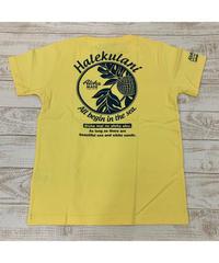 ALOHA MADE   MEN'S半袖Tシャツ Halekulani 202MA1ST051【YELLOW】
