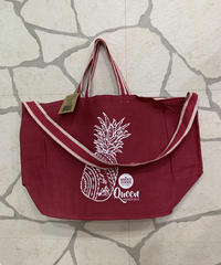WHOLE FOODS  QUEEN店限定2WAYエコトートバッグ 【CRANBERRY】