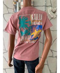 ALOHA MADE   半袖Tシャツ Kailua  Beach 202MA2ST068【PINK】