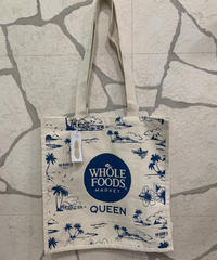 WHOLE FOODS  エコバック  QUEEN店限定 【NATURAL】