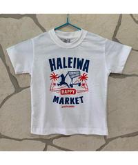 HALEIWA HAPPY MARKET 子供用Tシャツ 【WHITE】