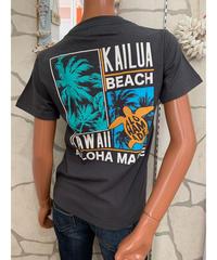 ALOHA MADE   半袖Tシャツ Kailua  Beach 202MA2ST068【GRAY】