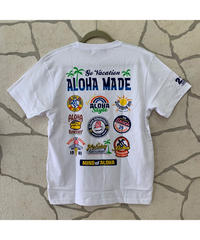ALOHA MADE   MEN'S半袖Tシャツ Holiday Restaurant  202MA1ST057【WHITE】