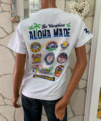 ALOHA MADE   半袖Tシャツ Holiday Restaurant  202MA2ST058【WHITE】