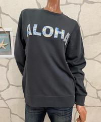 ALOHA MADE   MEN'Sトレーナー 204MA1TR035 ALOHA GRY【CHA】