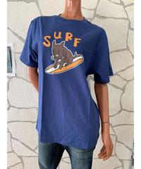 SURF'S   UP  MEN'S半袖Tシャツ ALOHA 202SU1ST101【NAVY】