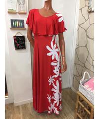 IPOLANI DRESS 【RED】