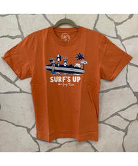SURF'S   UP  MEN'S 半袖Tシャツ SURF'S UP 202SU1ST105【ORANGE】