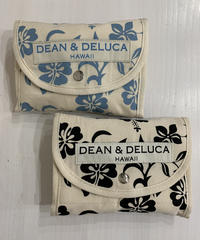 DEAN &  DELUCA  SHOPPING BAG HIBISCUS