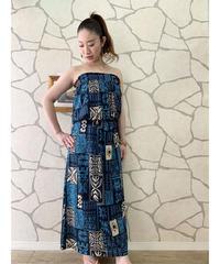 TAHITI DRESS  MKD-0012TH【BLUE】