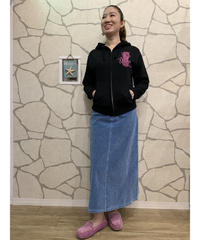 ANTI BALLISTIC インディゴベッチン マキシスカート 204AN2SK016 【BLU】