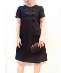 USED【miu miu】リトルブラックドレス 36